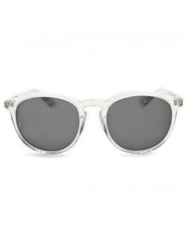 Wonderland Beaumont Sunglasses Clear Grey CZ