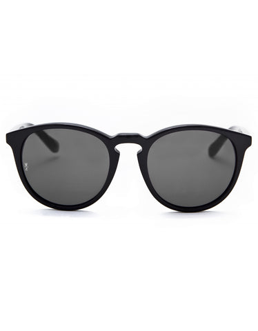 Wonderland Beaumont Sunglasses Gloss Black Grey CZ