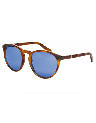 Wonderland Beaumont Sunglasses Havana Blue CZ