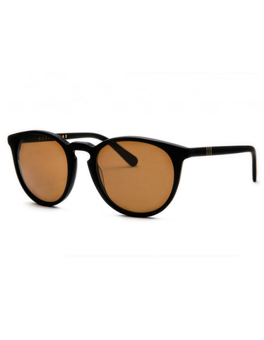 Wonderland Beaumont Sunglasses Matte Black Bronze CZ