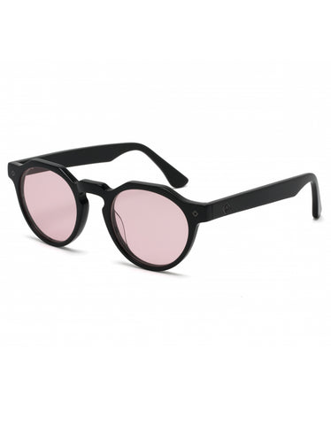 Wonderland Fontana Sunglasses Gloss Black Rose CZ