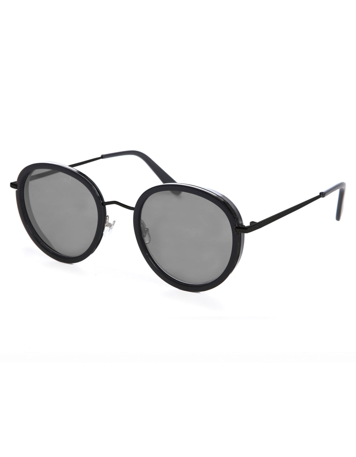 Wonderland Montclair Sunglasses Gloss Black Gray Carl Zeiss