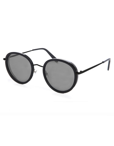 c400e3aaa77c Wonderland Beaumont Sunglasses Gloss Black Grey CZ – Still Life