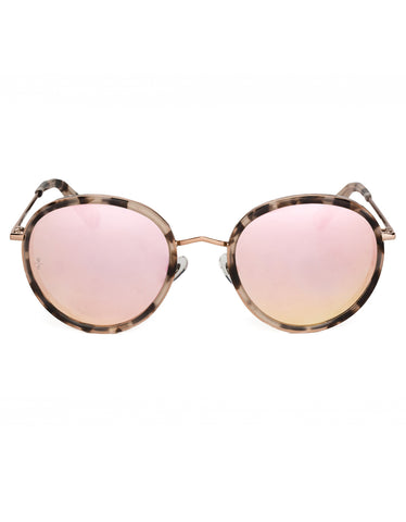 Wonderland Montclair Sunglasses Rose Tortoise Rose Gold M CZ