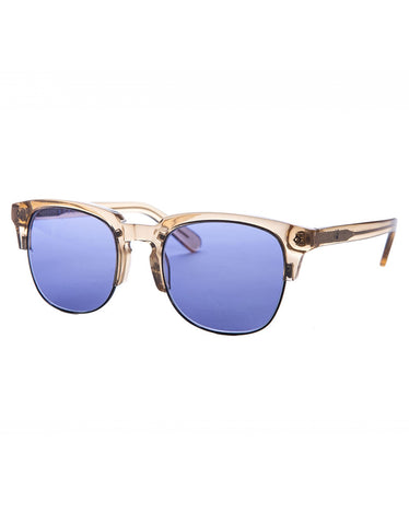 Wonderland Perris Sunglasses Clear Beach Glass Blue CZ