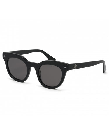 Wonderland Perris Sunglasses Gloss Black Grey CZ