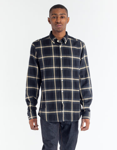Woolrich Light Flannel Shirt Black