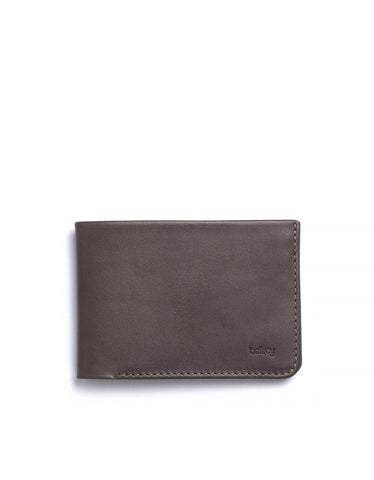 Bellroy Low Down Wallet Charcoal - Still Life - 1