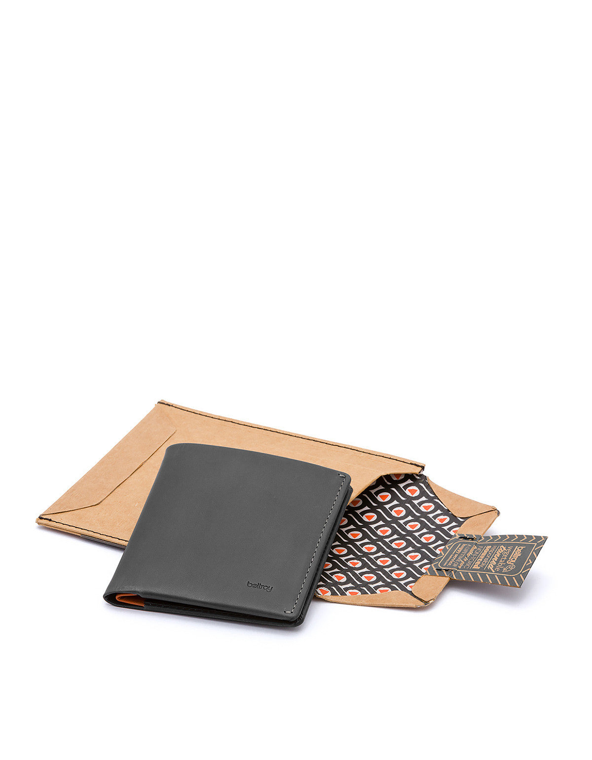 Bellroy Note Sleeve Wallet Charcoal - Still Life - 5