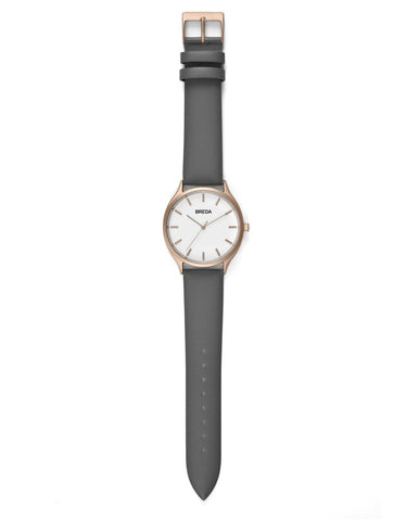 Breda Asper Watch Rose Gold Grey - Still Life - 2