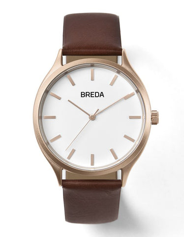 Breda Asper Watch Rose Gold Brown - Still Life - 1