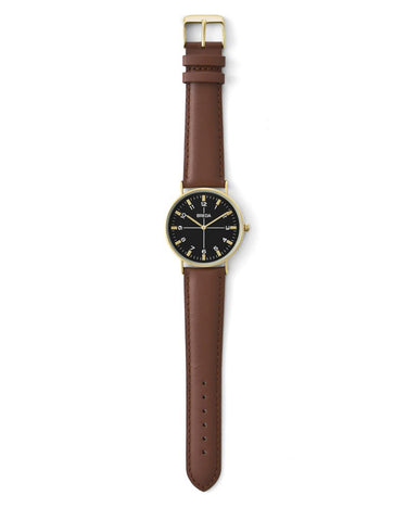 Breda Belmont Watch Gold Brown - Still Life - 2