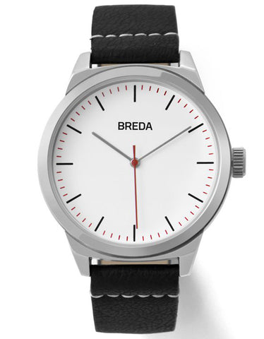 Breda Rand Watch Silver Black - Still Life - 1