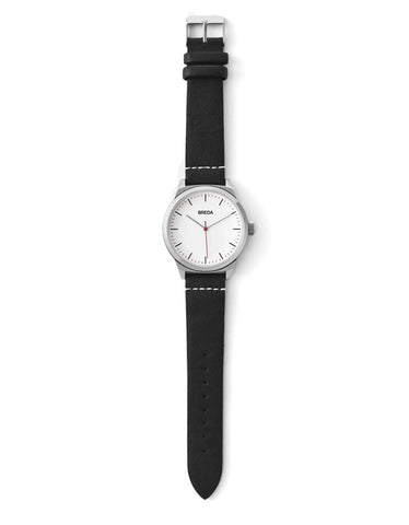 Breda Rand Watch Silver Black - Still Life - 2