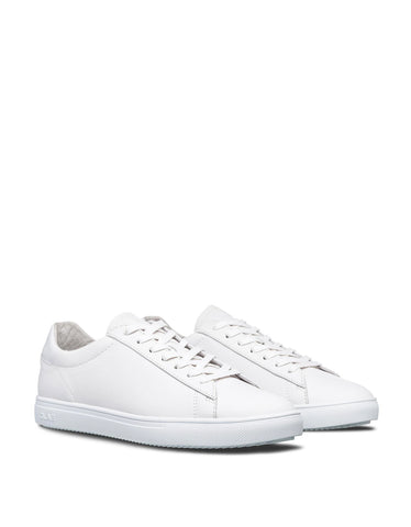 Clae Bradley Triple White Leather