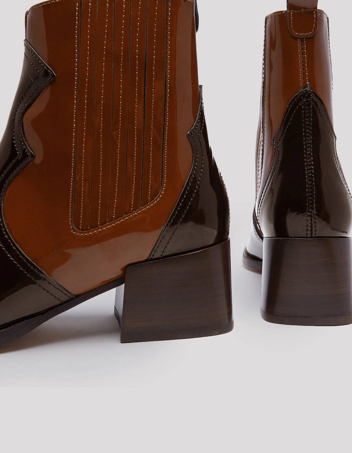 E8 by Miista Minea Patent Leather Boot