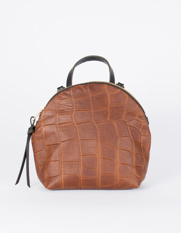 Eleven Thirty Anni Mini Bag Bronze Croc
