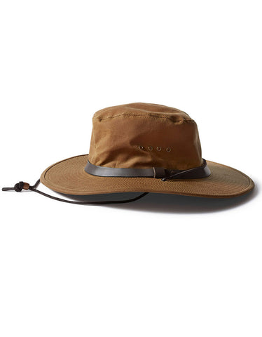Filson Tin Cloth Bush Hat Tan - Still Life