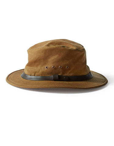 Filson Tin Packer Hat Tan - Still Life