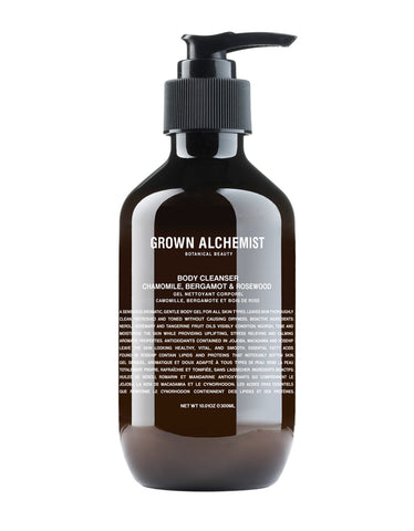 Grown Alchemist Body Cleanser: Bergamot & Rosewood 300ml - Still Life