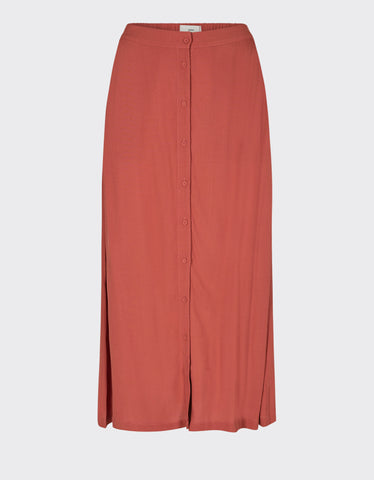 Minimum Maisa Midi Skirt Marsala