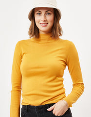 Minimum Miosa Turtleneck Sunflower