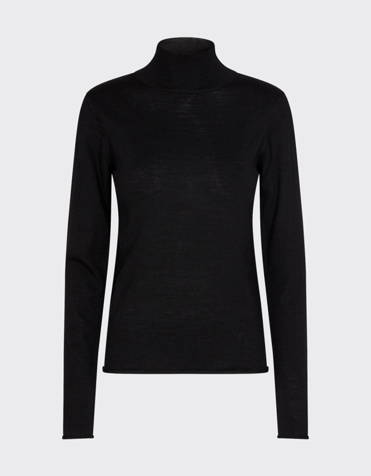 Minimum Miosa Turtleneck Black