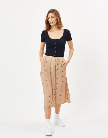 Minimum Sodot Midi Skirt Tannin
