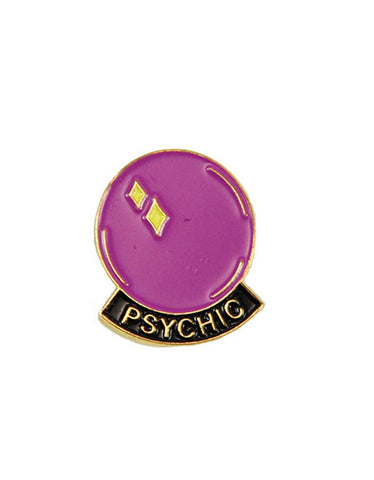 Explorer's Press Psychic Lapel Pin - Still Life
