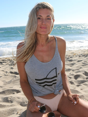 **NEW** No Fins No Future Womens Tank - Wilddtail
