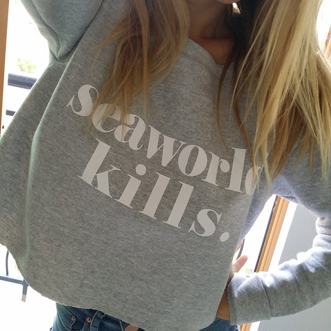 Seaworld Kills. Women's Sweatshirt - Wilddtail