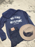 **NEW** Shark Hoodie No Fins No Future - Save Sharks - Wilddtail
