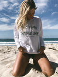 **NEW** No Fins No Future - Save Sharks Women's Sweatshirt - Wilddtail