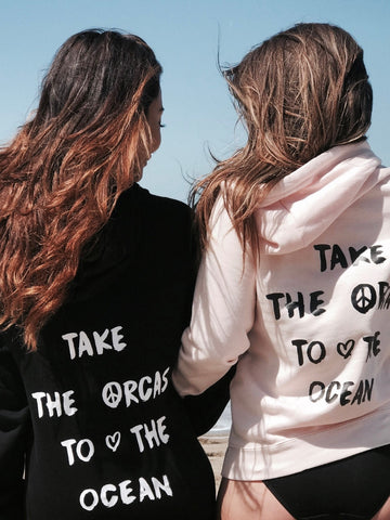 Take the Orcas To the Ocean Hoodie - Wilddtail