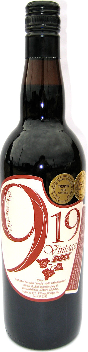 919 Limited Release Vintage Fortified 750mL
