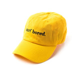 Surf Bored Cap (Yellow)