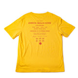 Concert Tour tee (yellow)