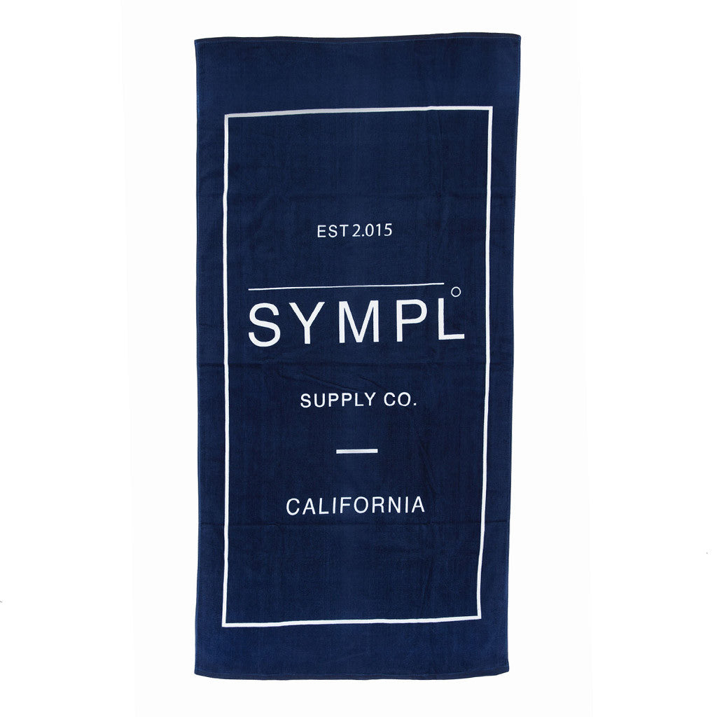 SYMPL Beach Towel