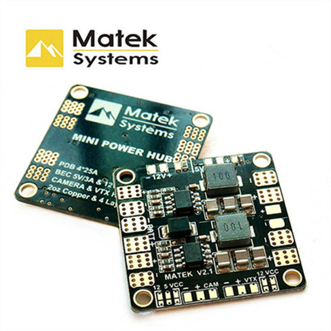 Matek Power Distribution Board with built in BEC