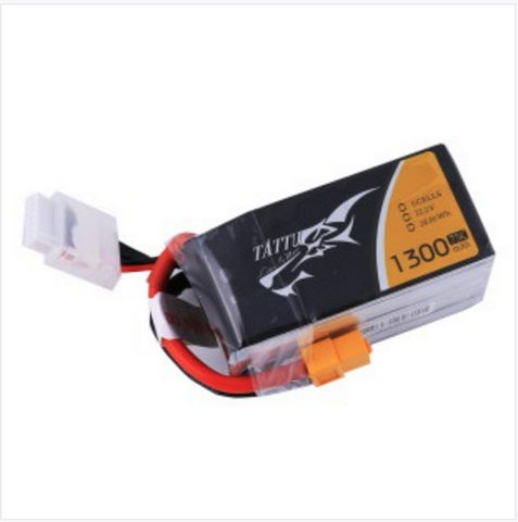Tattu 1300mah 6S 75C battery LiPo