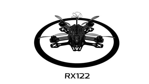 Ready to Build - RotorX Atom Quad Frame Kit