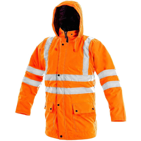 Bunda VISION OXFORD ORANGE REFLEX WINTER