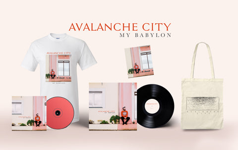 Exclusive signed 'My Babylon' CD and Vinyl bundle  - WITH FREE TOTE BAG