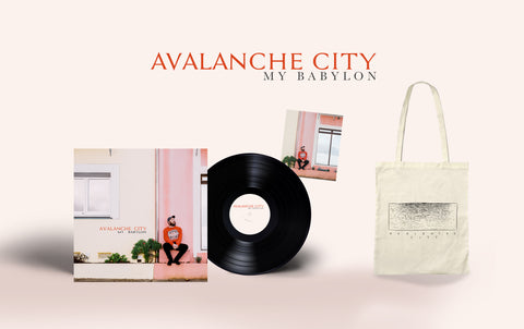 "Exclusive Signed 'My Babylon' 12"" Vinyl Album - WITH FREE TOTE BAG"