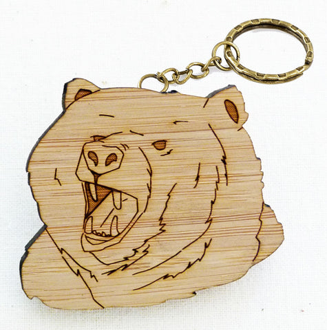 Bear Keyring + We Are For The Wild Places CD [BUNDLE]