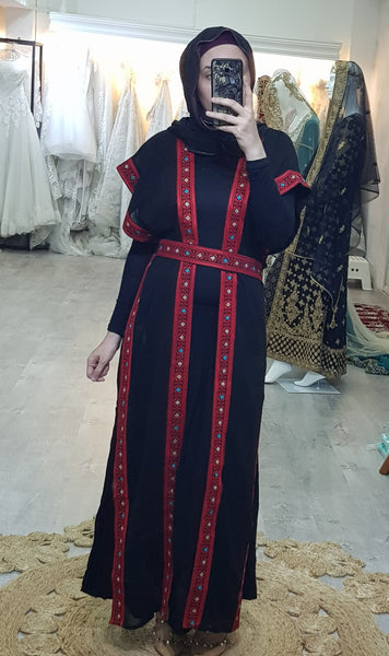 Uzma Jordanian embroidered Vest