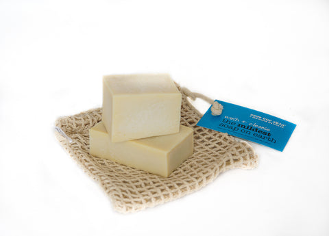 THE MILDEST SOAP ON EARTH 100gM bar wash bar for face + body hand made with xtra virgin olive oil - perfect for him, her + baby + the most sensitive skin