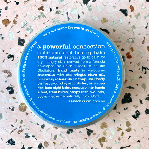 A POWERFUL CONCOCTION  multifuctional go to balm