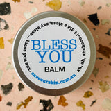 BLESS YOU BALM Vapour rub for colds, flu, headaches, allergies + sinus