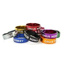Circus Monkey Coloured Alloy Spacers Set